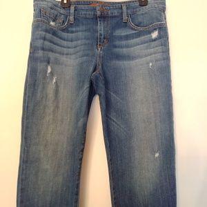 Joe's Jeans Jeans - Joe's Jeans Easy High Water Crop Slight distressed